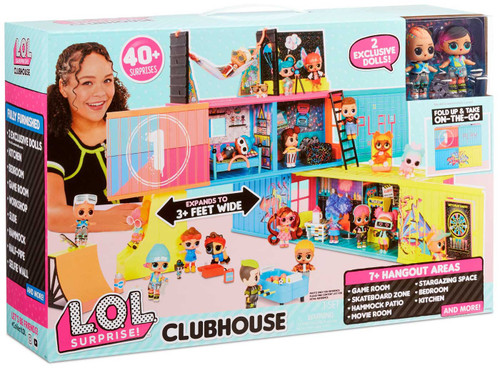 LOL Surprise Clubhouse Playset [40+ Surprises!]