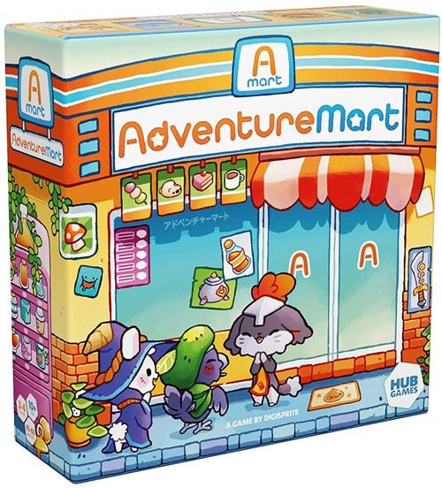Hub Games Adventure Mart Board Game
