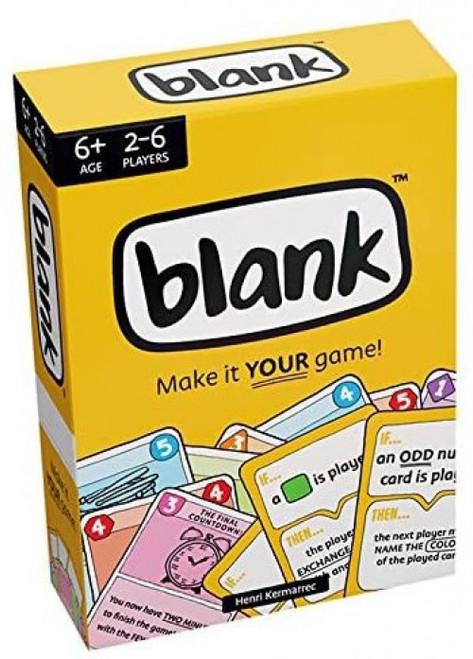 Hub Games Blank Card Game