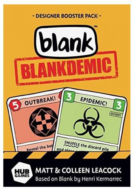 Hub Games Blankdemic Expansion Pack