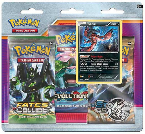 Pokemon Trading Card Game XY Yveltal Special Edition [3 Booster Packs, Promo Card & Coin!]