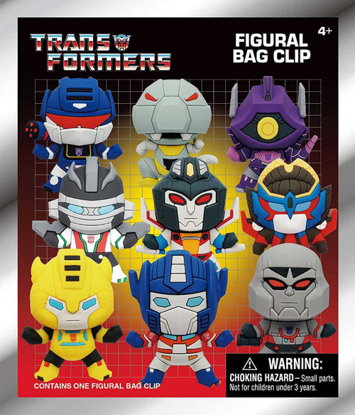 3D Figural Keyring Transformers Series 1 Mystery Pack (Pre-Order ships January)