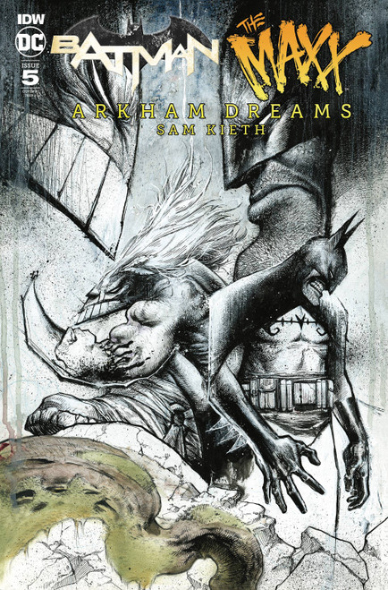 IDW Batman and The Maxx #5 of 5 Comic Book [Incentive Variant Cover]