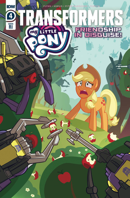 IDW Transformers & My Little Pony #4 of 4 Comic Book [Incentive Variant Cover]