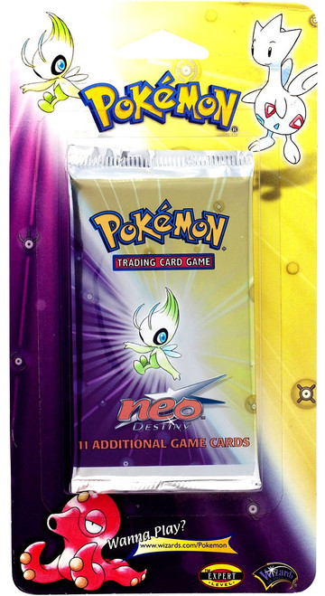 Pokemon Trading Card Game Neo Destiny BLISTER Booster Pack [11 Cards]