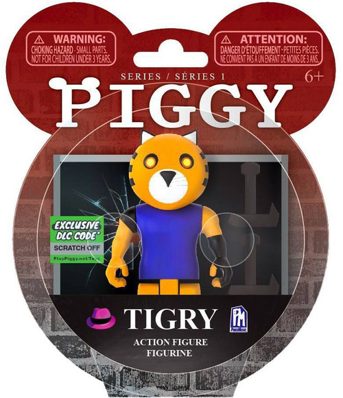 Piggy Tigry Action Figure [Exclusive DLC Code!] (Pre-Order ships December)