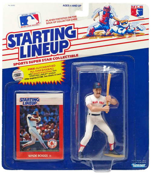 MLB Starting Lineup Wade Boggs Action Figure [Moderate shelf wear]