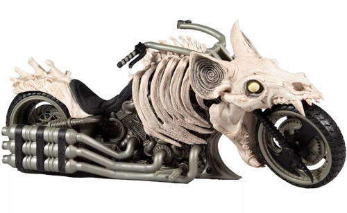 McFarlane Toys DC Multiverse Batcycle 7-Inch Vehicle [Death Metal Motorcycle] (Pre-Order ships January)