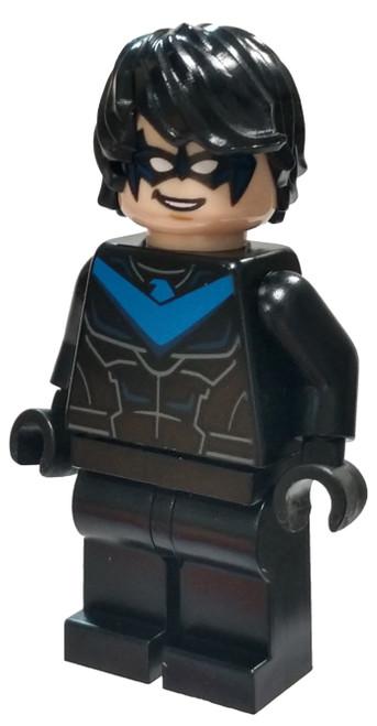 LEGO DC Universe Super Heroes Batman II Nightwing Minifigure [Rebirth Loose]