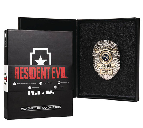 Resident Evil Metal Badge ID Wallet Prop Replica (Pre-Order ships February)