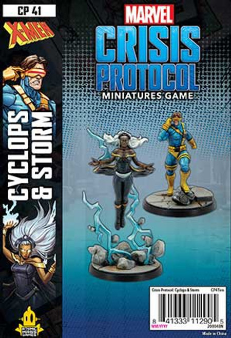 Marvel Crisis Protocol Cyclops & Storm Character Pack