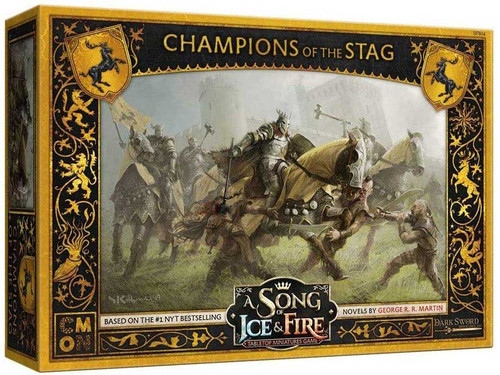 A Song of Ice & Fire Baratheon Champions of the Stag Unit Box