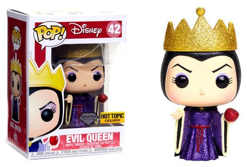 Funko Snow White POP! Disney Evil Queen Exclusive Vinyl Figure #42 [Diamond Collection, Damaged Package]