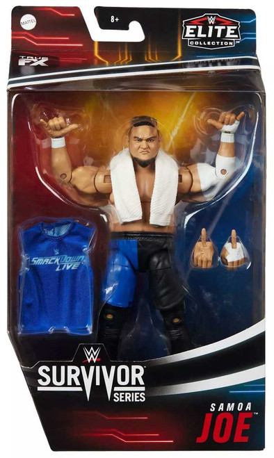 WWE Wrestling Elite Collection Survivor Series Samoa Joe Action Figure