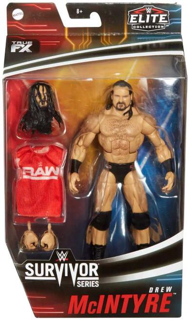 WWE Wrestling Elite Collection Survivor Series Drew McIntyre Action Figure