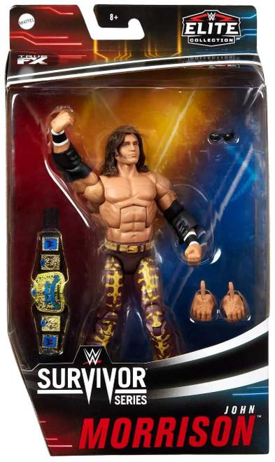 WWE Wrestling Elite Collection Survivor Series John Morrison Action Figure