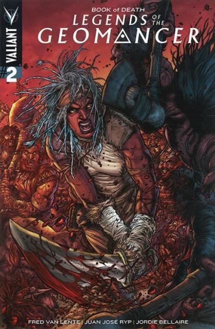 Valiant Comics Book of Death: Legends of the Geomancer #2 Comic Book