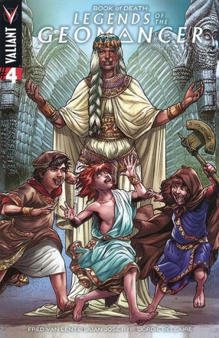 Valiant Comics Book of Death: Legends of the Geomancer #4 Comic Book
