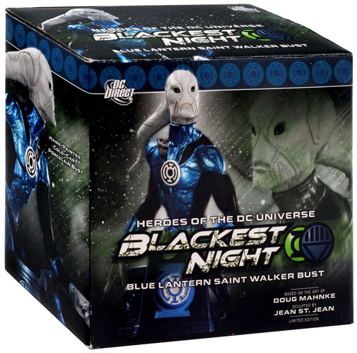 DC Green Lantern Blackest Night Blue Lantern Saint Walker 6-Inch Bust