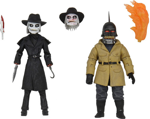 NECA Puppet Master Blade & Torch Action Figure 2-Pack [Ultimate Version] (Pre-Order ships July)