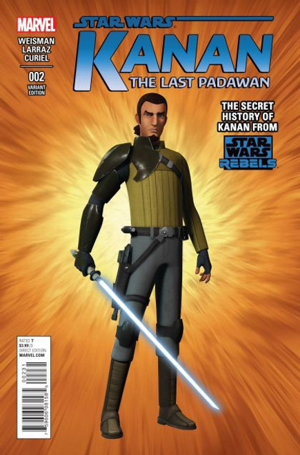 Marvel Star Wars: Kanan: The Last Padawan #2C Comic Book