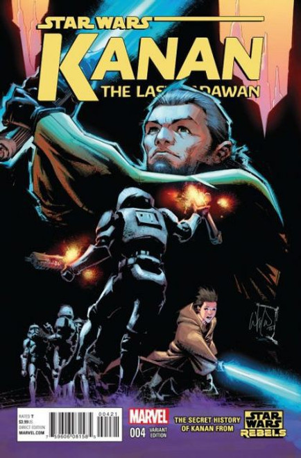 Marvel Star Wars: Kanan: The Last Padawan #4B Comic Book