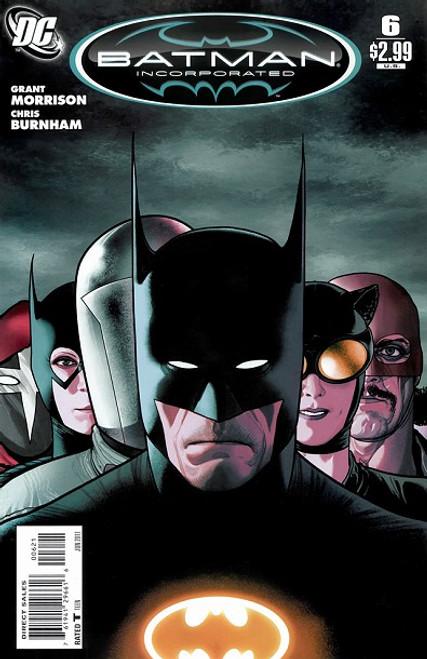 DC Comics Batman Incorporated, Vol. 1 #6B Comic Book