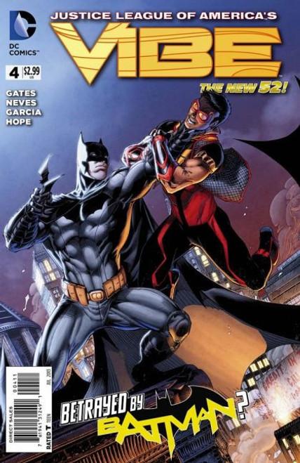 DC Comics Justice League of America's Vibe #4A Comic Book