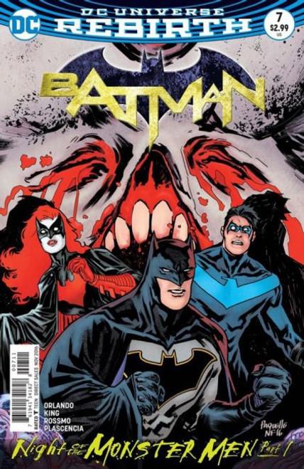DC Comics Batman, Vol. 3 #7A Comic Book