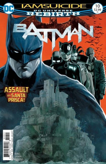 DC Comics Batman, Vol. 3 #10A Comic Book