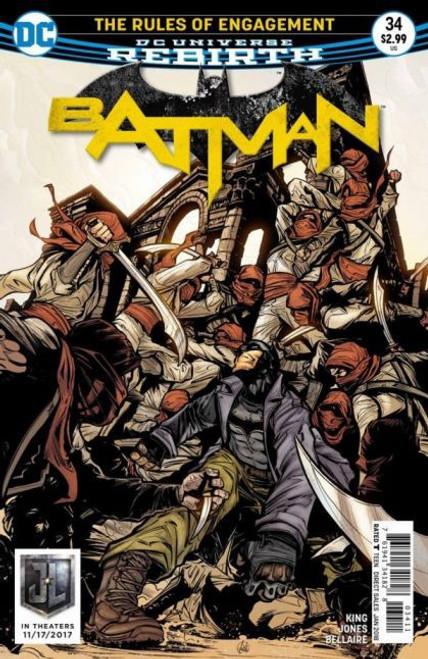 DC Comics Batman, Vol. 3 #34A Comic Book