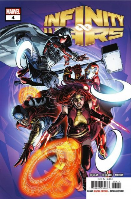 Marvel Infinity Wars #4A Comic Book
