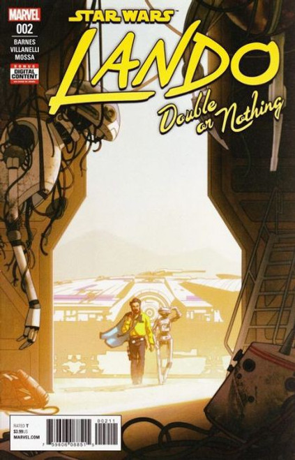 Marvel Star Wars: Lando: Double Or Nothing #2A Comic Book