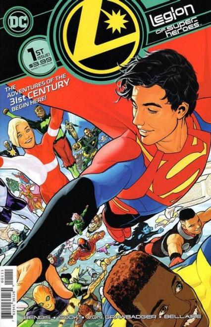 DC Comics Legion of Super-Heroes, Vol. 8 #1A Comic Book