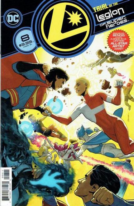 DC Comics Legion of Super-Heroes, Vol. 8 #8A Comic Book