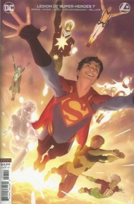 DC Comics Legion of Super-Heroes, Vol. 8 #7B Comic Book