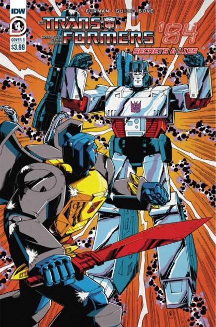 IDW Publishing Transformers '84: Secrets & Lies #4B Comic Book