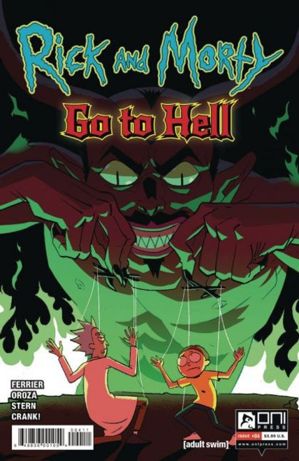 Oni Press Rick and Morty: Go To Hell #4A Comic Book