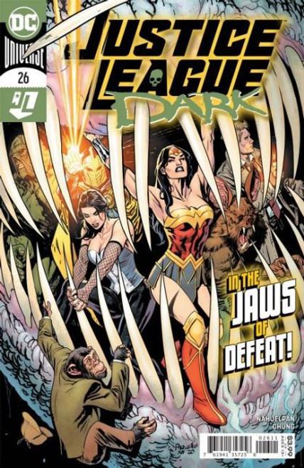 DC Comics Justice League Dark, Vol. 2 #26A Comic Book