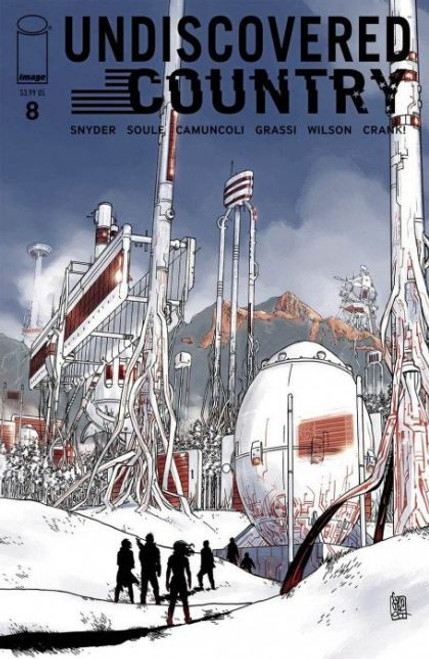 Image Comics Undiscovered Country #8A Comic Book