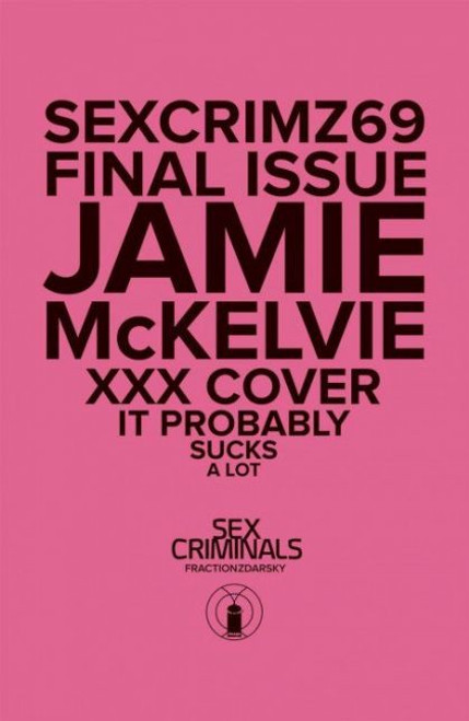 Image Comics Sex Criminals #69B Comic Book [XXX Cover, Polybagged]
