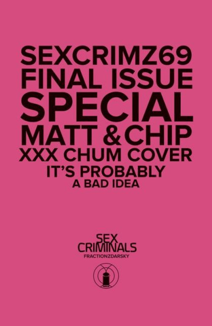 Image Comics Sex Criminals #69C Comic Book [XXX Cover, Polybagged]