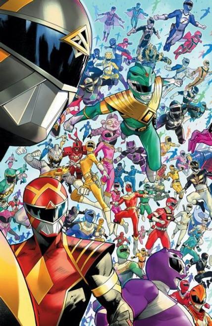 Boom! Studios Mighty Morphin #1E Comic Book