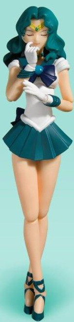 Pretty Guardian Sailor Moon S.H. Figuarts Sailor Neptune Action Figure [Animation Color Edition] (Pre-Order ships May)