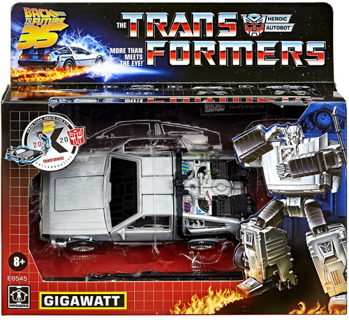 Transformers Back to the Future Gigawatt Action Figure [Mash Up!] (Pre-Order ships January)