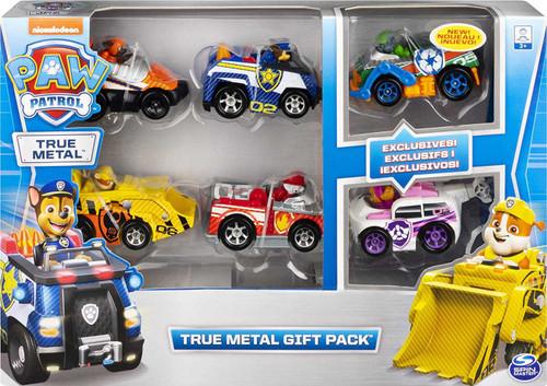 Paw Patrol True Metal Gift Pack Diecast Car 6-Pack