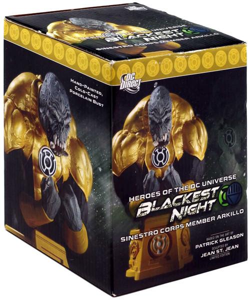 DC Green Lantern Blackest Night Sinestro Corps Member Arkillo 6-Inch Bust