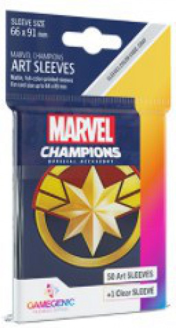 Marvel Champions LCG Captain Marvel Standard Card Sleeves