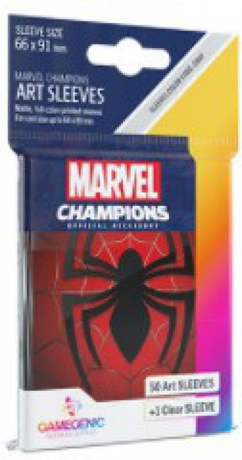 Marvel Champions LCG Spider-Man Standard Card Sleeves