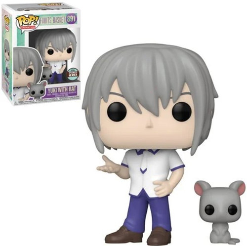 Funko Fruits Basket POP! Animation Yuki Sohma with Rat Exclusive Vinyl Figure #891 (Pre-Order ships February)